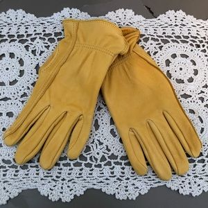 Genuine Deerskin Leather Gloves. NWT